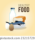 milk, bread, eggs 23215729