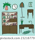 Furniture - Set of design elements 23216779