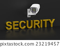Security surveillance camera, security concept 23219457
