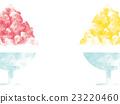 刨冰 草莓味 冷冻点心 23220460