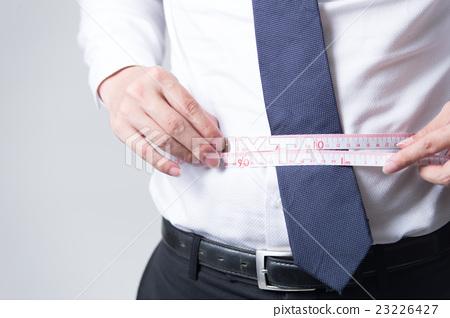 Male salaryman · white back 23226427