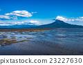 mudflat, tideland, blue water 23227630