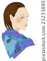 時尚圍巾的女人 23233685