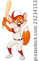 Baseball fox 23234153