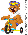 Bear on tricycles 23234160