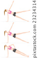 exercise, vector, workout 23234314