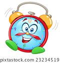 Cartoon alarm clock 23234519