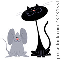 Cat and mouse 23234551