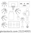 Basketball Vector Elements 23234955