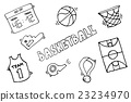 Basketball Vector Elements 23234970