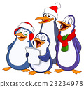 Caroling penguins 23234978