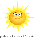 sun, cute, face 23235642