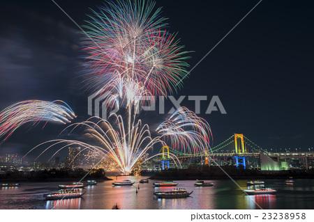 [東京]台場的煙火 23238958