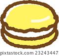 馬卡龍 甜食 甜點 23243447