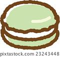 馬卡龍 甜食 甜點 23243448