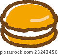 馬卡龍 食物 食品 23243450