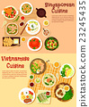 Vietnamese and singaporean cuisine flat icon  23245435