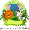 Jungle Animals 23245626