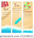 Set of vector travel banners 23248031