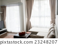 blur image of modern living room interior 23248207