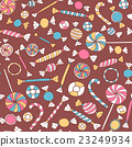 Colorful Sweets Seamless Pattern 23249934