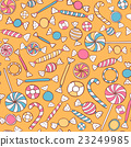 Sweets Seamless Pattern Hand Drawn 23249985