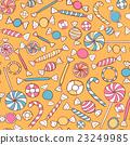 Sweets Seamless Pattern Hand Drawn 23249985