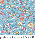 Sweets Seamless Pattern 23249986