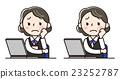 女性員工 - 個人電腦 23252787