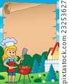 Barbeque theme parchment 2 23253627