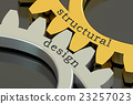 structural design concept on the gearwheels 23257023