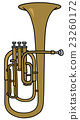 Classic brass bombardone 23260172