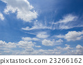 Blue sky and white clouds 23266162