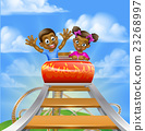 Roller Coaster Fair Theme Park 23268997