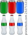 Soda Cola Aluminium Cans Glass Bottles 3 Colors 23271121