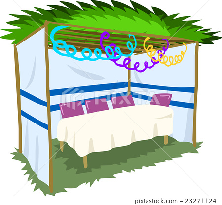 Sukkah For Sukkot With Table 2 23271124