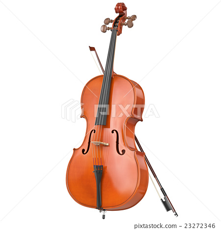 Cello classical wooden 23272346