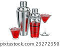 Cocktail shaker set cup 23272350