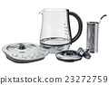 Electric kettle set equipment, open view 23272759