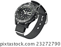 Military watch black 23272790