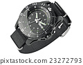 Black military watch 23272793