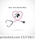 Breast cancer awareness logo design. Breast cancer 23273821
