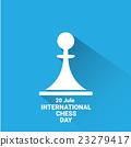 international chess day background . vector chess 23279417