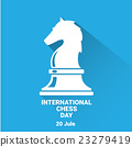 international chess day background . vector chess 23279419