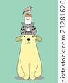 动物 重叠 堆起 23281620