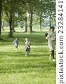 公园 母子 鲜绿 23284141