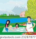 family picnic 23287877