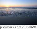 Radiant sea beach sunrise 23290694