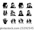 Sexual Harassment Vector Icom 23292545