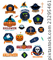 Halloween Badges and Labels 23295461
